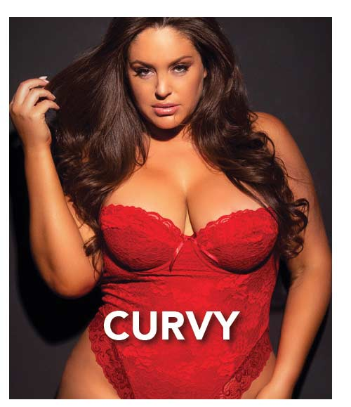 Shop Curvy Lingerie at Lover's Lane!