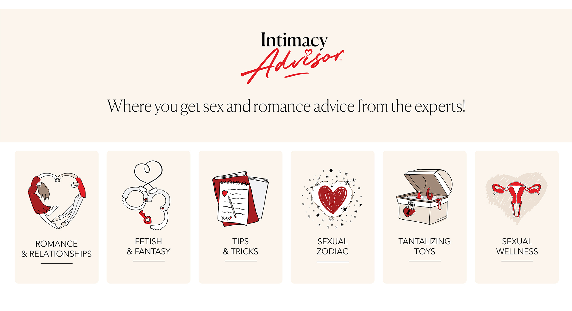 Intimacy Advisor - Where you get Sex and Romance Advice from the Experts!