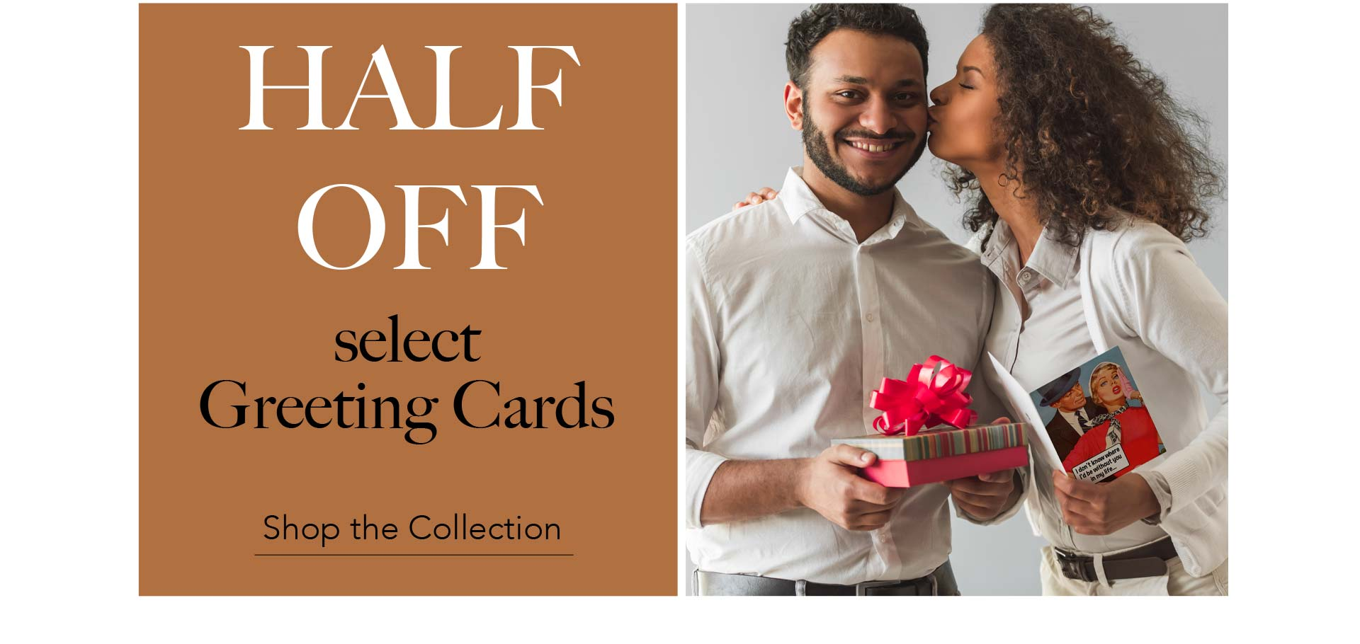 Half off select Greeting Cards - Shop the Collection