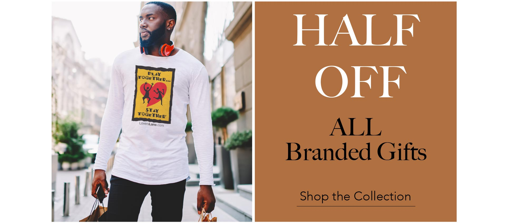 HALF OFF all branded Gifts! - Shop the collection