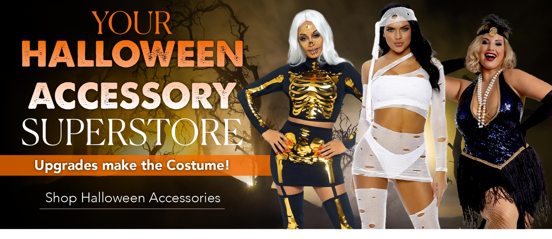 Your Halloween Accessory Superstore - Upgrades make the Costume - Shop Halloween Accessories