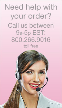 Need help with your order? Call us between 9 am - 5 pm EST: 1-800-266-9016 Toll Free
