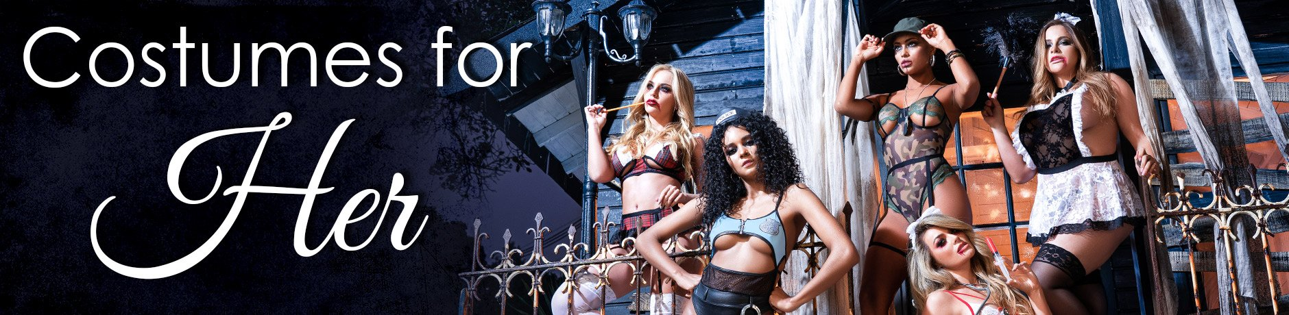 Costumes For Her Header image