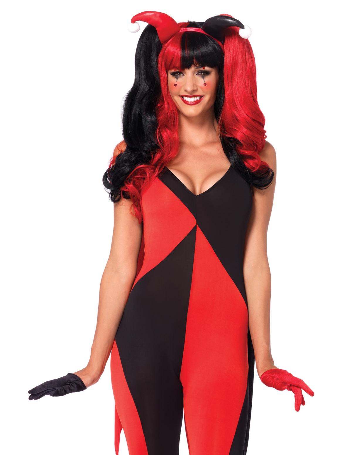 2Pc Jingle Jester Costume