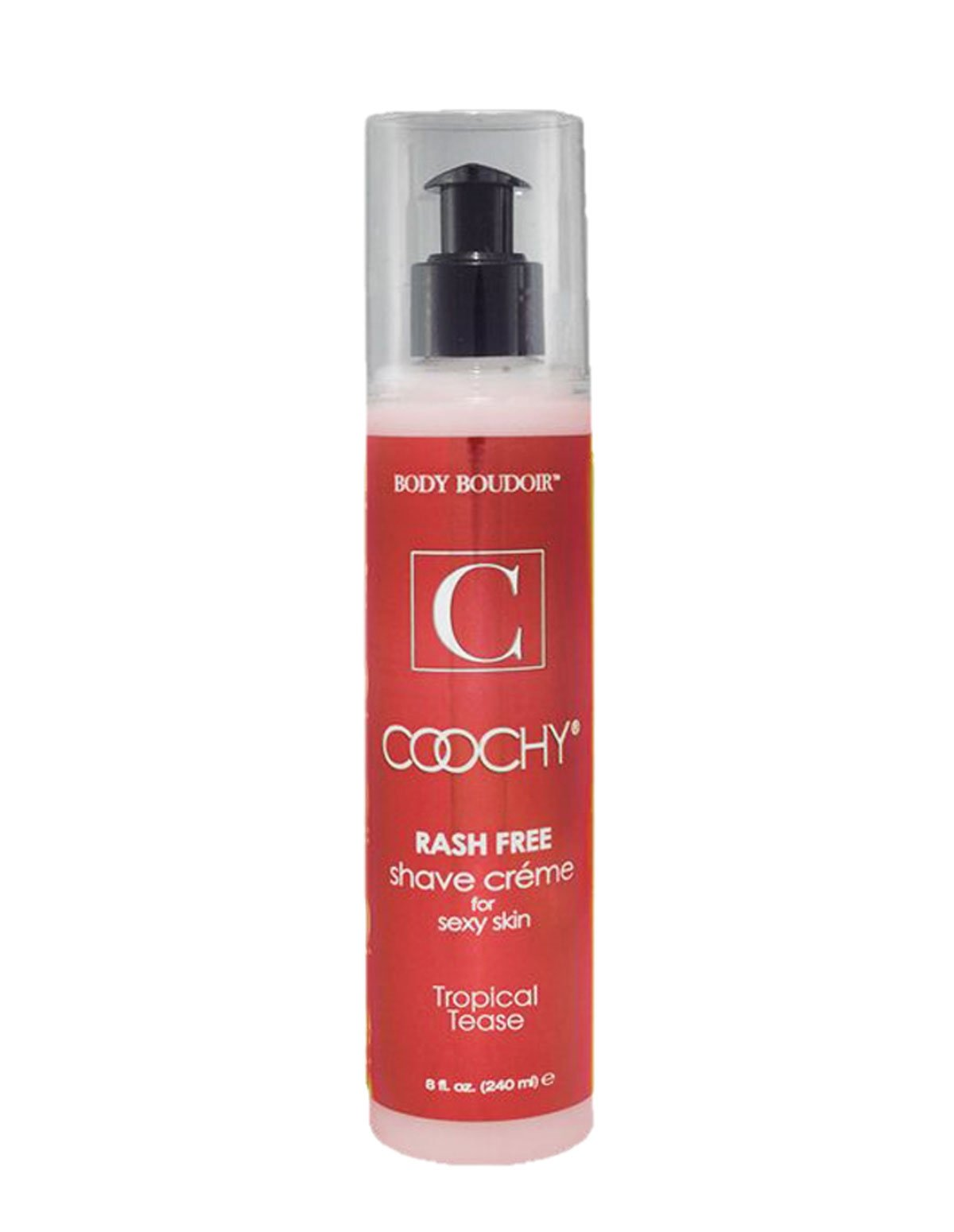 Coochy Tropical Tease 8 Oz Shave Cream