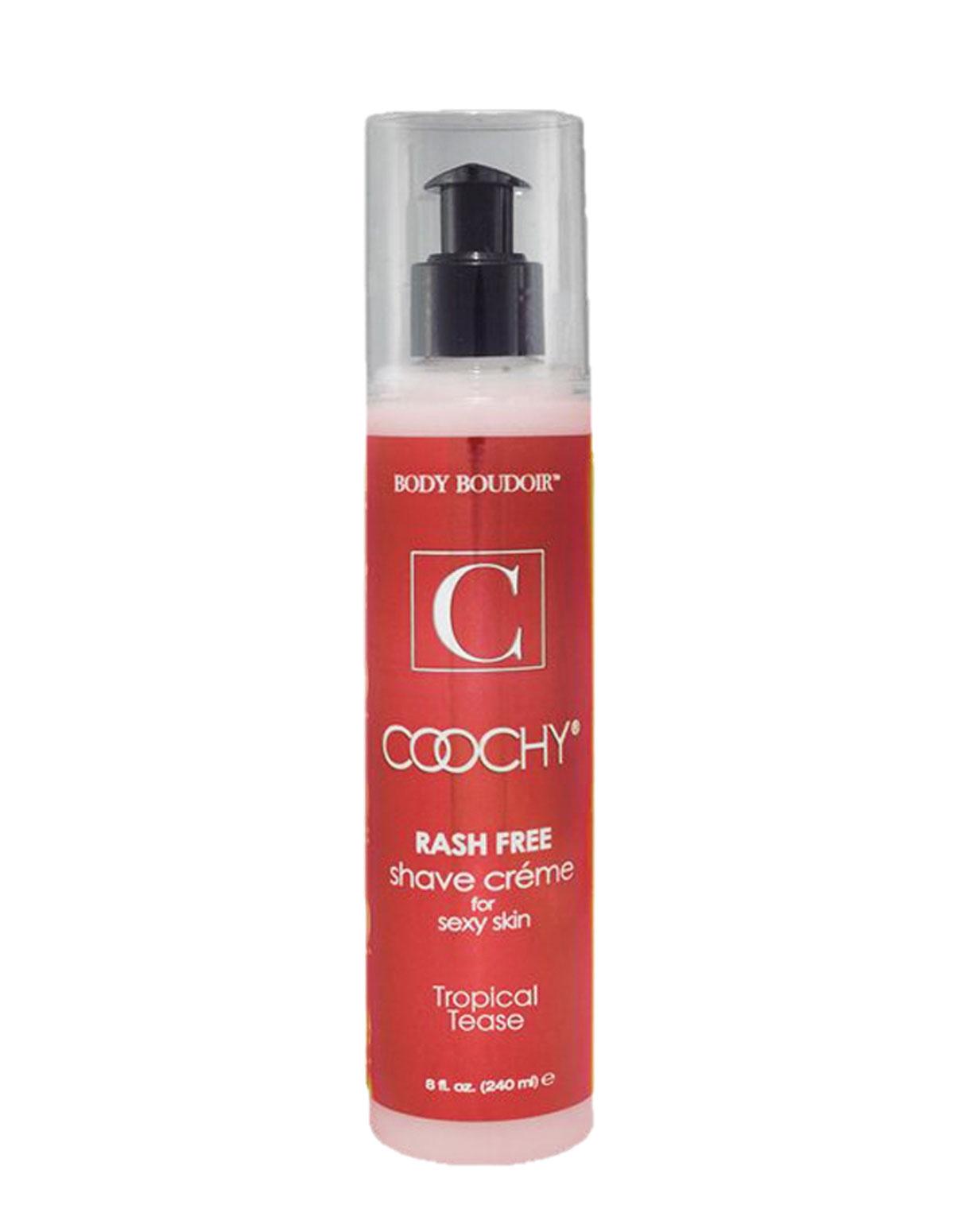 Coochy Tropical Tease 8Oz Shave Cream
