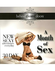 MONTH OF SEX GAME