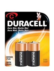C DURACELL BATTERIES 2 PACK