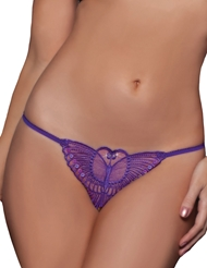 MADAME BUTTERFLY CROTCHLESS G-STRING - PLUS
