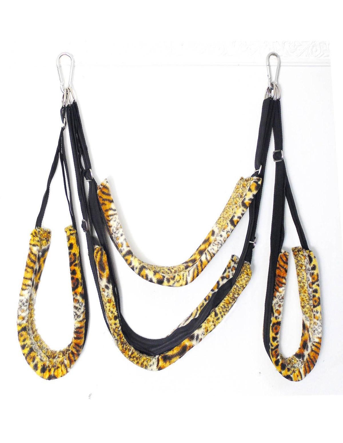 Whip Smart Pleasure Swing Cheetah