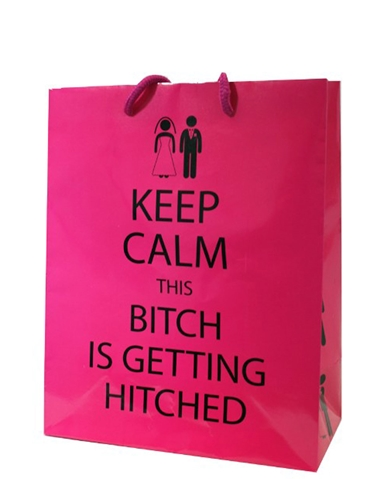 THIS BITCH IS GETTING HITCHED GIFT BAG