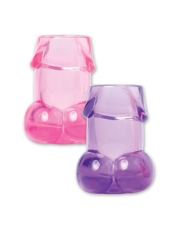 BACHELORETTE PECKER SHOT GLASSES 6 PACK
