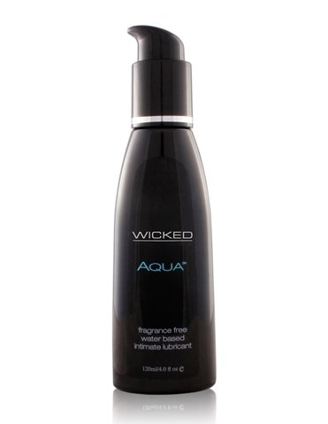 AQUA WATERBASED LUBRICANT 4OZ