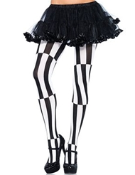 Alternate front view of OPTICAL ILLUSION TIGHTS