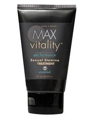 MAX VITALITY SEXUAL STAMINA TREATMENT