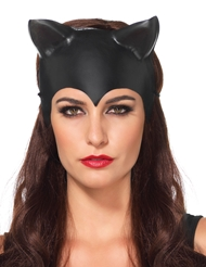 Alternate front view of MOLDED CAT EAR MASK