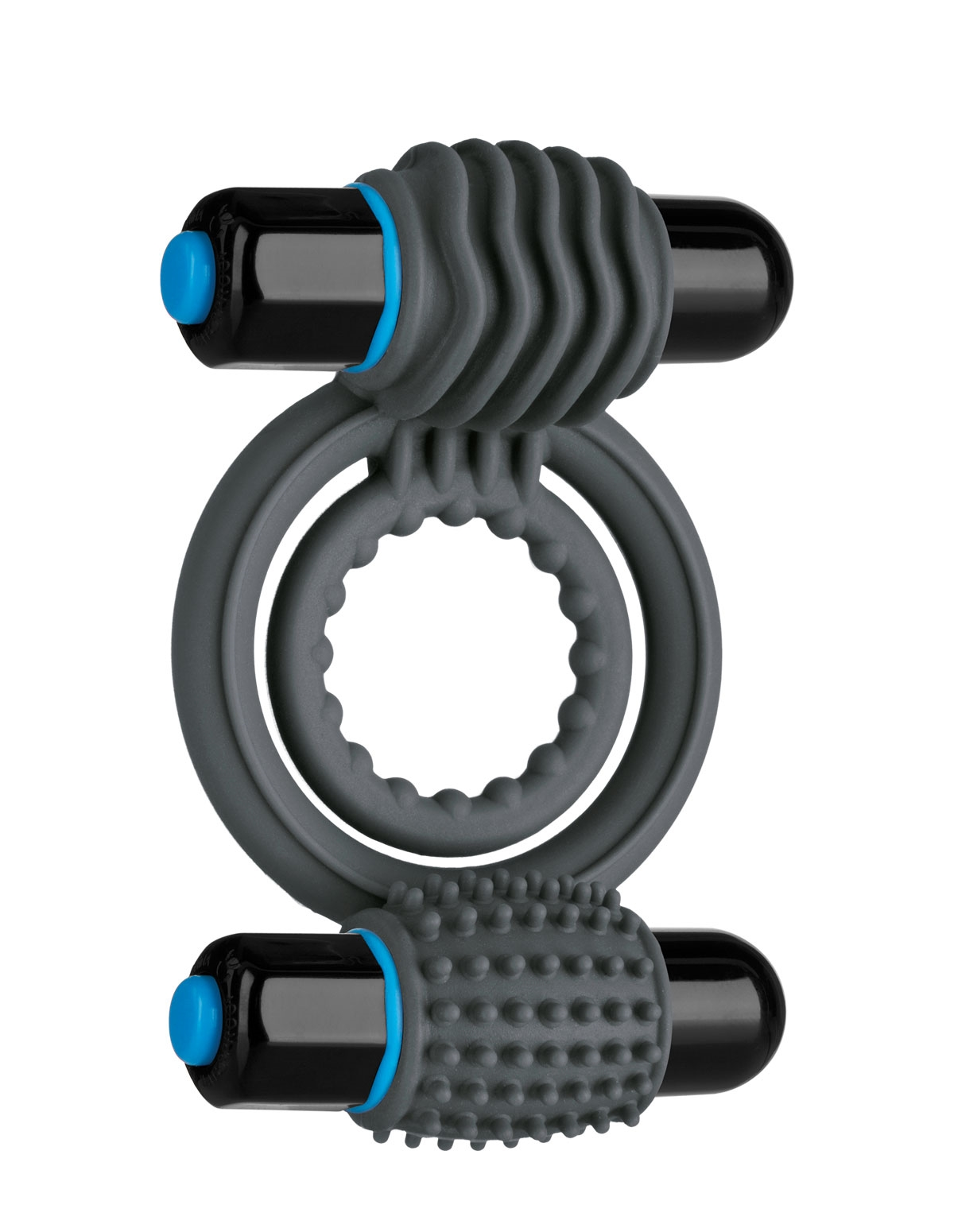 Optimale Vibrating Double Cockring Silicone