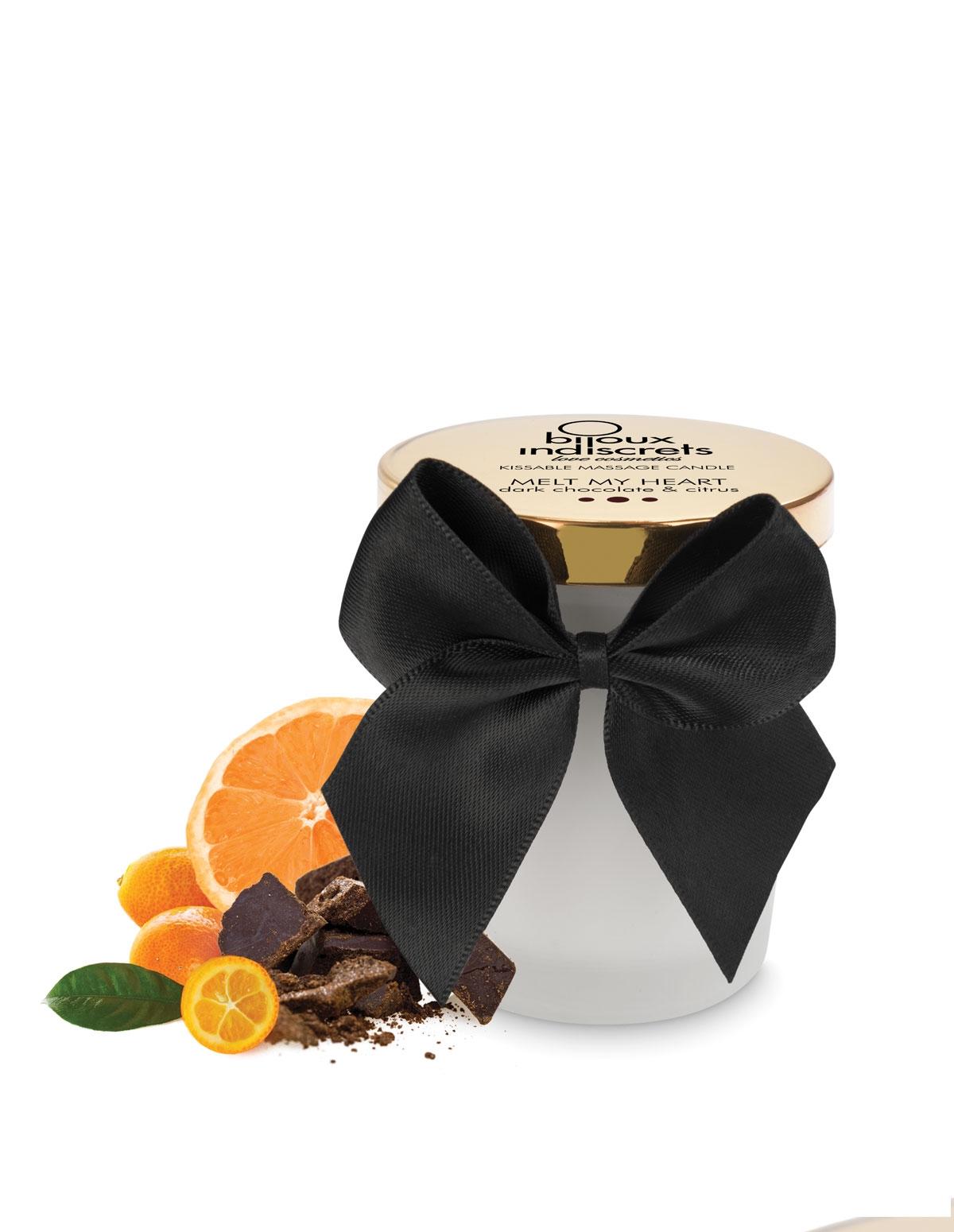 Melt My Heart Massage Candle - Dark Chocolate