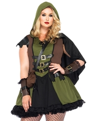 DARLING ROBIN HOOD COSTUME - PLUS