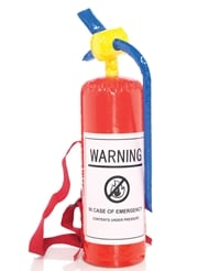 INFLATABLE FIRE EXTINGUISHER