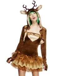 Alternate front view of DEER COSTUME