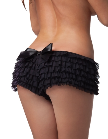 RUFFLE SHORT WITH BOW