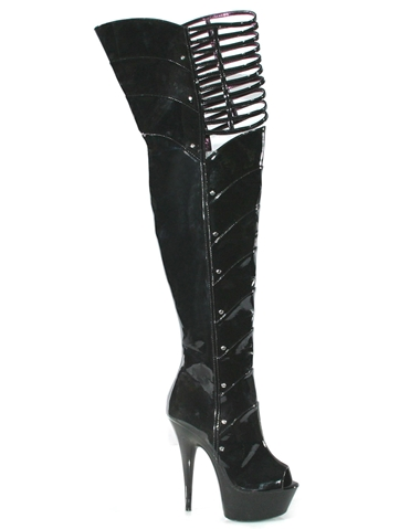 KATRINA 6 INCH BOOT WITH 2 INCH PLATFORM