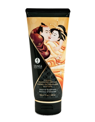 KISSABLE MASSAGE CREAM ALMOND SWEETNESS