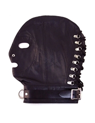 ROUGE MASK WITH LOCKABLE BUCKLE