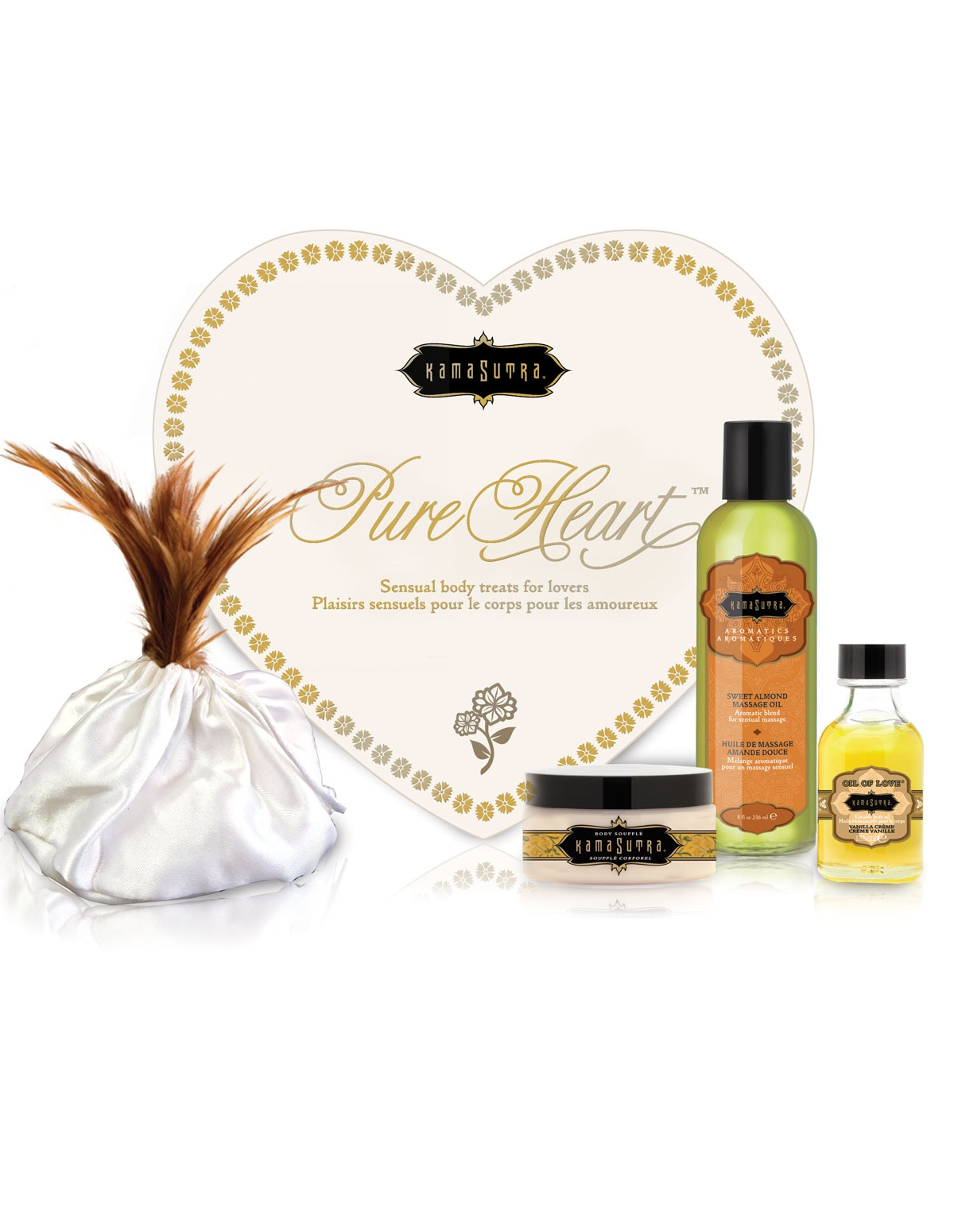 Pure Heart Massage Collection - Vanilla
