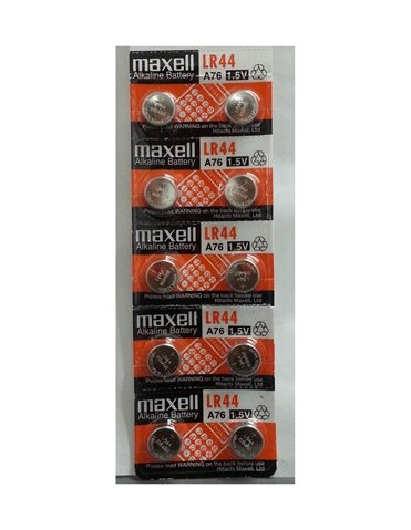 MAXELL AG13 BATTERIES