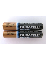 2PK AAAA DURACELL BATTERY CLAMSHELL (QUAD A)