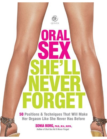 ORAL SEX SHE WILL NEVER FORGET BOOK