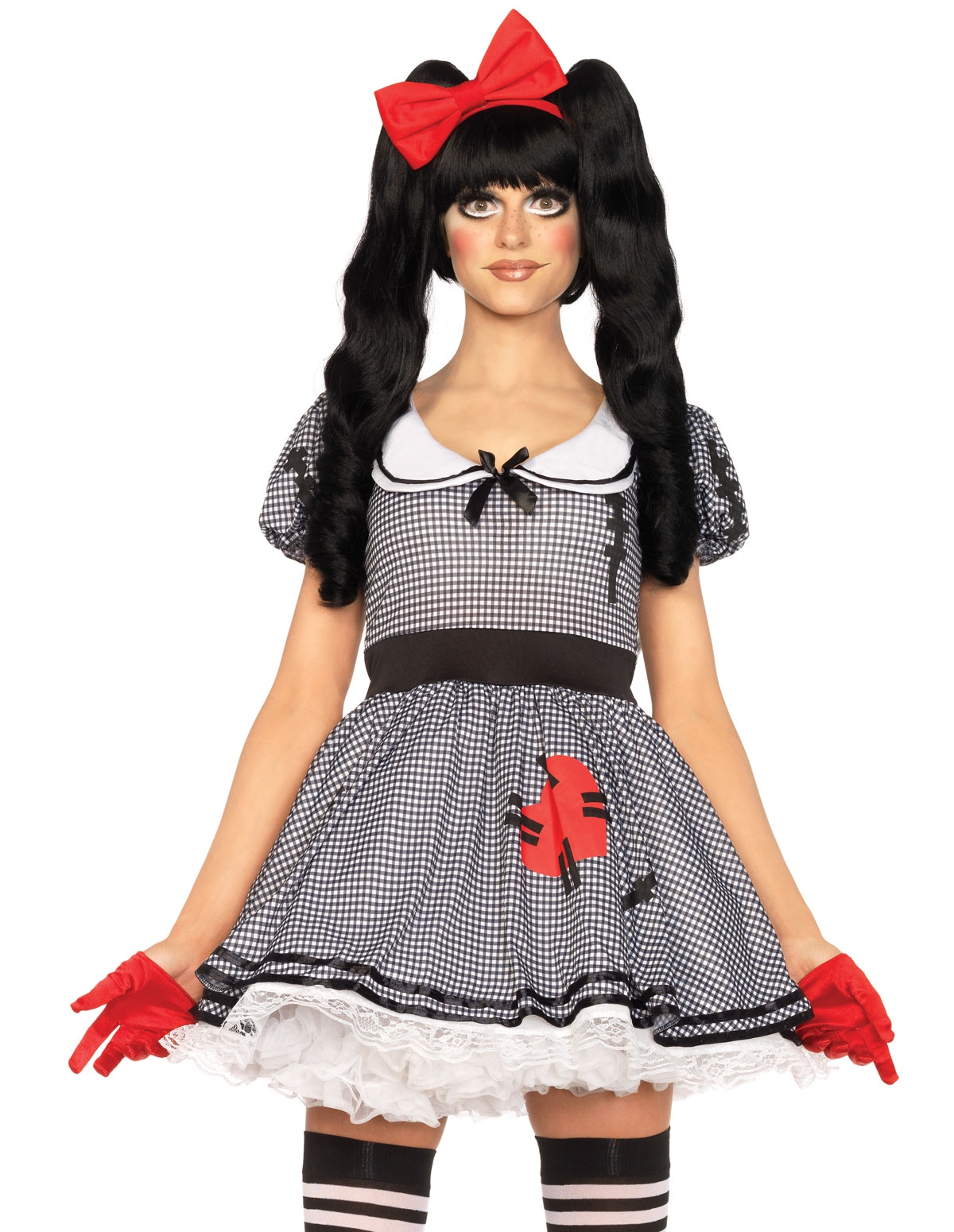 3Pc Wind-Me-Up Dolly Costume