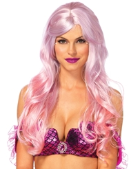 Alternate front view of MERMAID OMBRE WIG