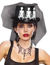 Alternate view of MS. BONES HAT