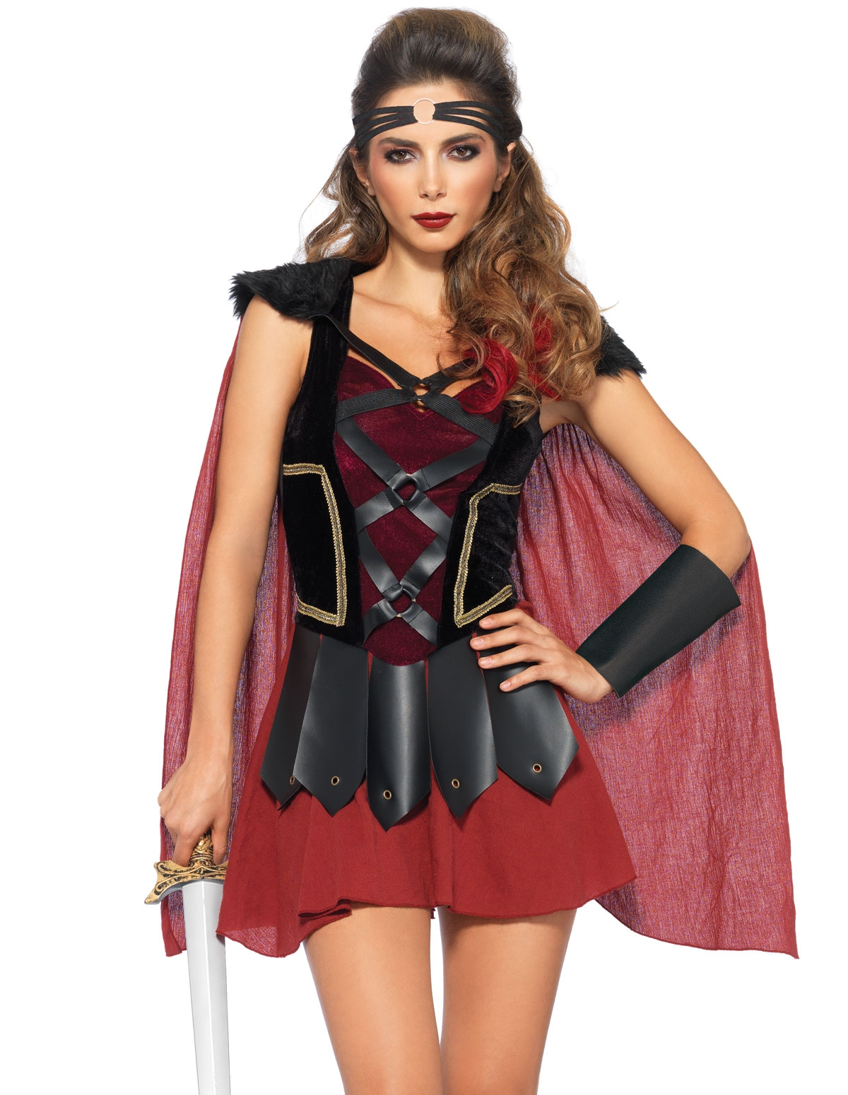 4Pc Trojan Warrior Costume