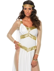 3PC GOLDEN GODDESS COSTUME