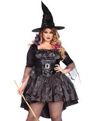 BLACK MAGIC MISTRESS COSTUME - PLUS