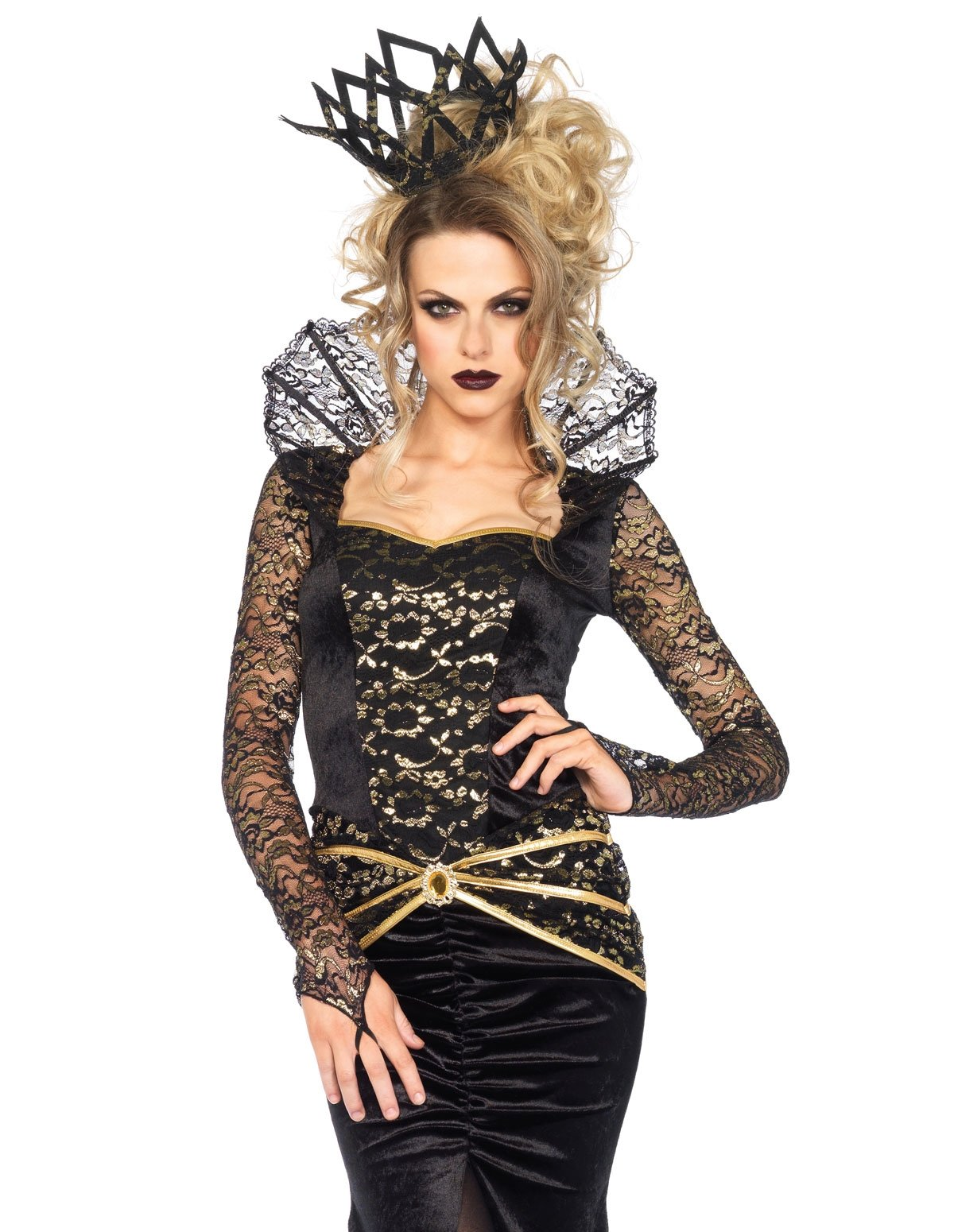 2Pc Deluxe Evil Queen Costume