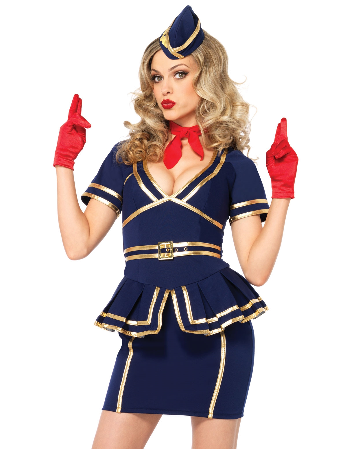 Friendly Skies Flight Attendant Costume