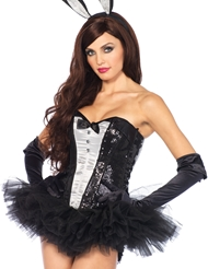 Alternate view of TUXEDO CORSET
