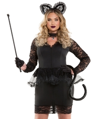 MS. MEOW LACE KITTY COSTUME
