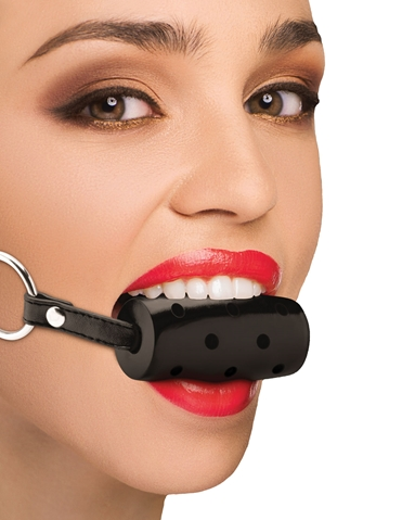 BREATHABLE CYLINDER GAG