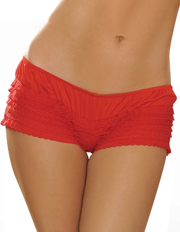 RUFFLE SPECIAL MESH PANTY
