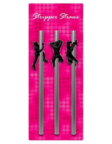 STRIPPER STRAWS- MALE