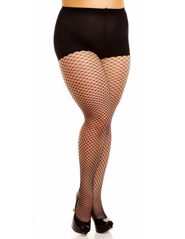 50351 MESH FISHNET TIGHTS- PLUS