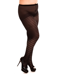 Alternate front view of SATURNIA 20 PANTYHOSE- PLUS
