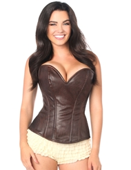 WARRIOR GIRL CORSET BROWN
