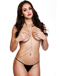 CLASSIC BODYCHAIN WITH DOUBLE HIP STRAND